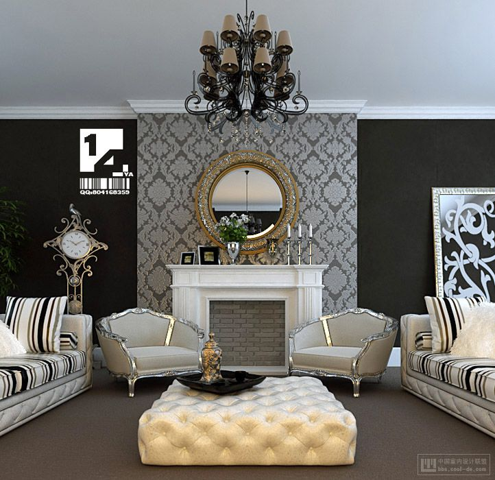 Luxury Homes Interior Decoration Living Room Designs Ideas: Modern Chinese Interior Design