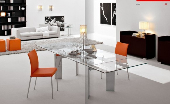 Luxury Beautiful Dining Rooms From Cattelan Italia