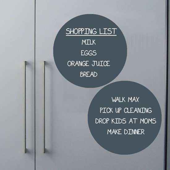 easy to do list chalkboard