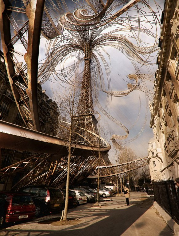 eiffel-tower-visualization