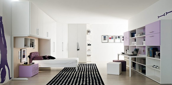 lilac-black-rug-bedroom