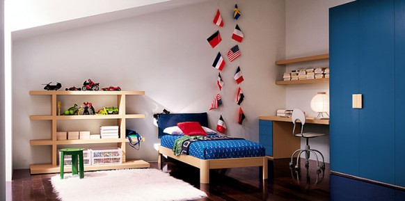 navy-blue-bed-room