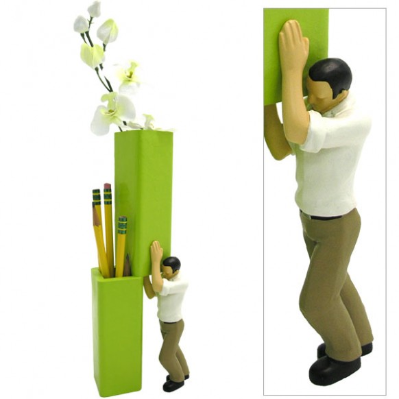 pencil-flower-holder