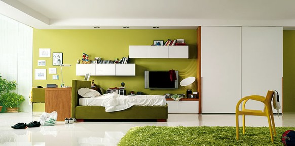 pencil-green-yellow-bedroom