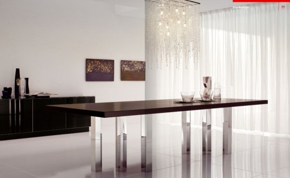 scintillating dining room