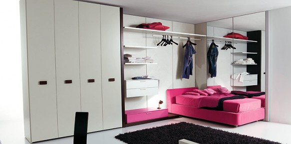 white-candy-pink-bed-room
