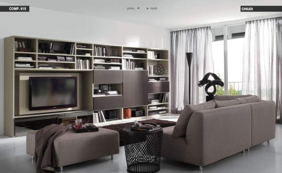 white-darkbrown-livingroom