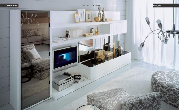 white-mirrored-livingroom