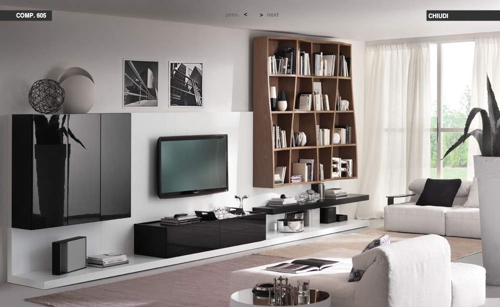 Living Room Ideas With White Sectionals modern living rooms from tumidei