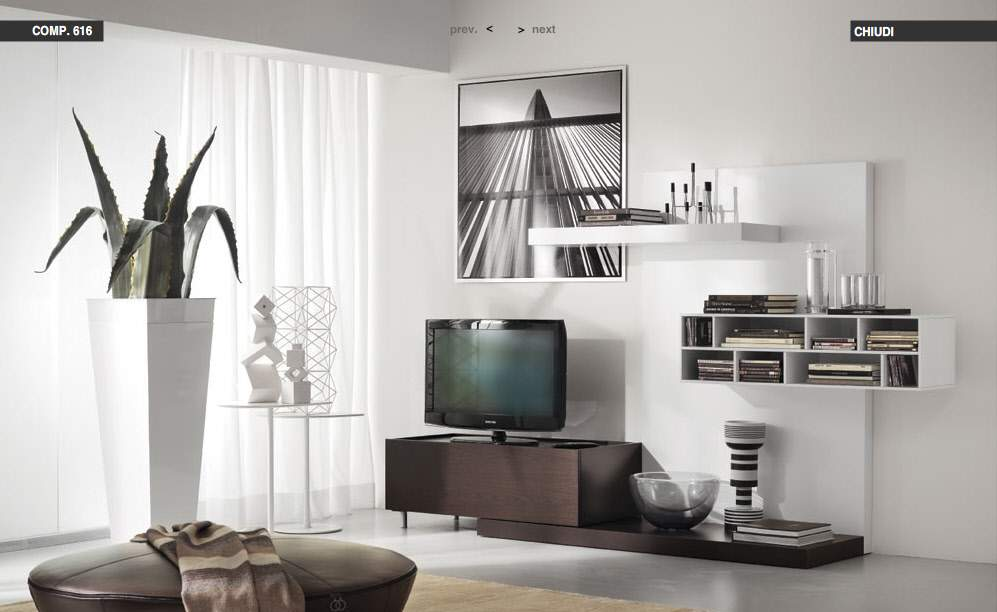 Modern living rooms from tumidei for Modern living room vases