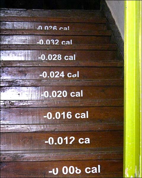 calorie stairs