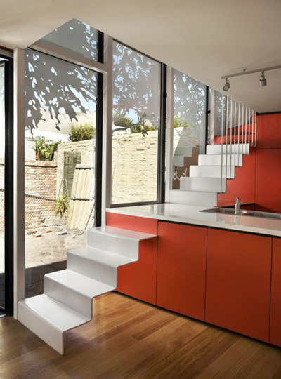 counter ttop stairs