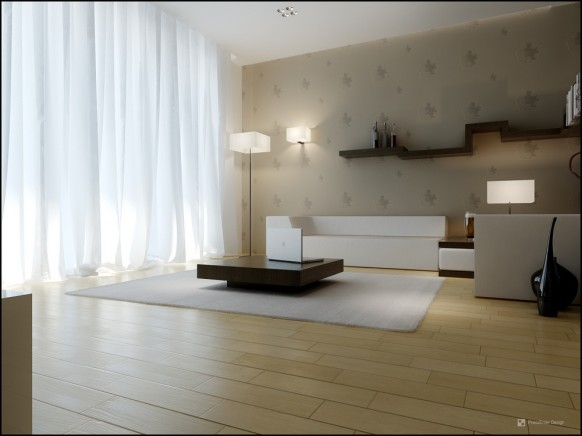 interior design of the room