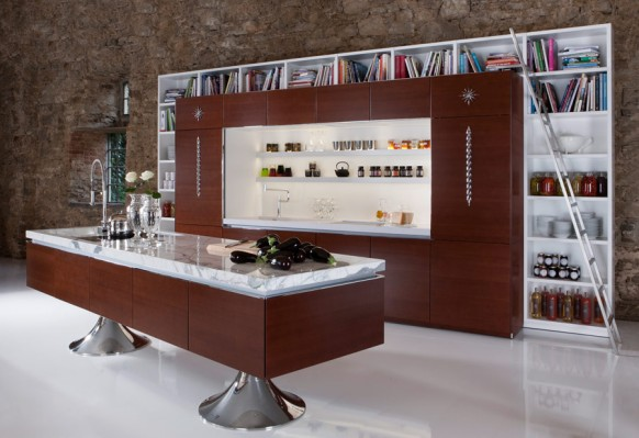 library kitchen