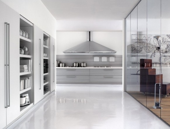 silver chimney kitchen
