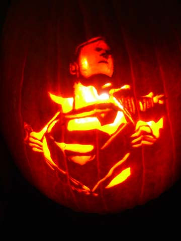 superman-halloween-pumpkin