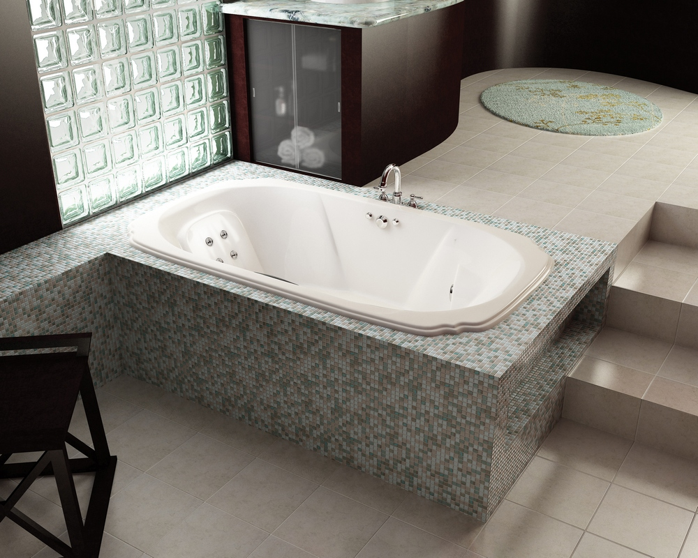 Asian Design Bathrooms Asian design bathroom with authetnic vision and candles decoration