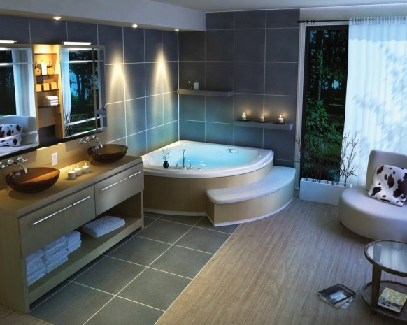 Contemporary and Traditional Bathroom Design Ideas
