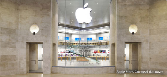 Apple Store Design In Paris France os luxury home