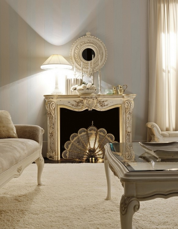 luxury interior design classic italian design