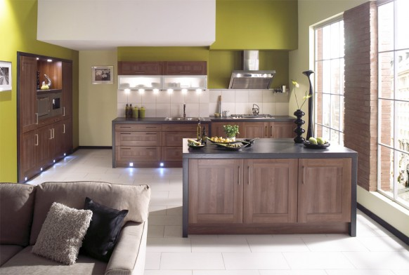 Beautiful Green Kitchens Designs
