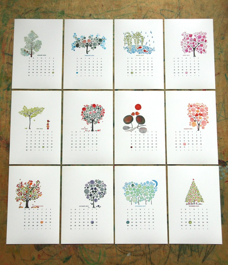 Calendar Design Idea : Cute calender designs for