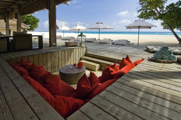 Private Island Seychelles - seating area