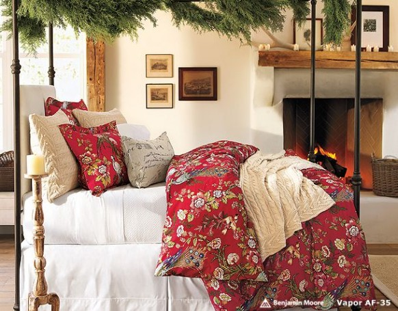 Best Christmas Bedroom Decorations Idea