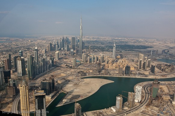 city of dubai- from the top