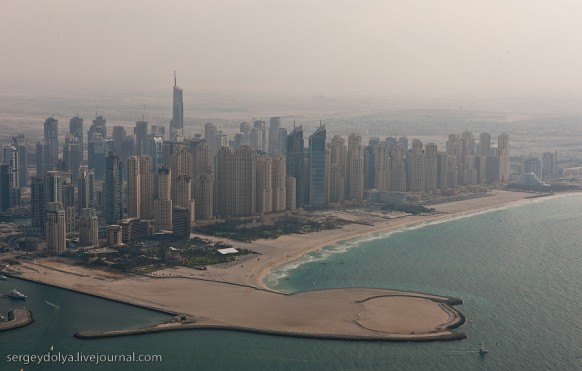 city of dubai - reclaimed land