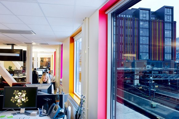 google stockholm office - office space