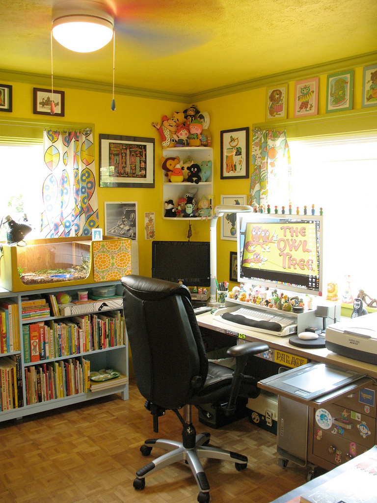 Creative Home Art Studio Ideas