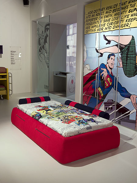 superman room customised