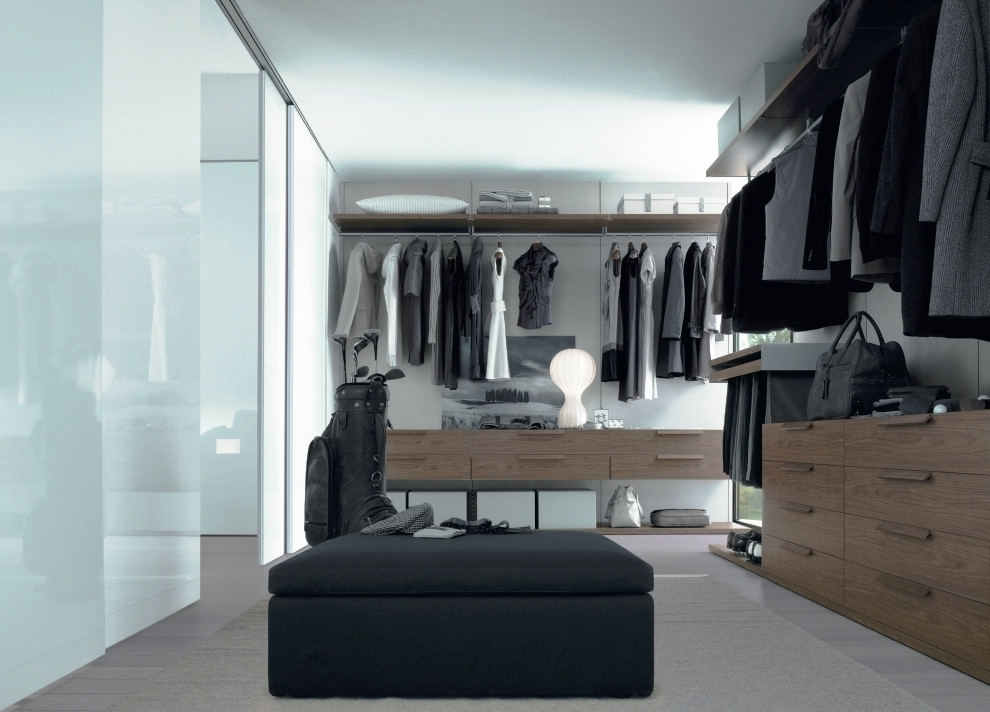 Bedroom closets and wardrobes for Walk in wardrobe design