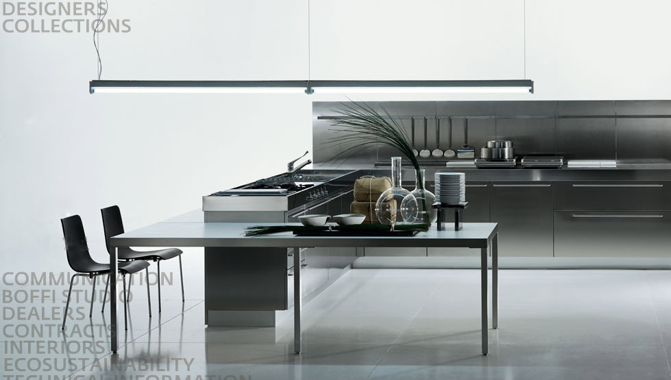 stainless steel kitchen designs | gawe omah