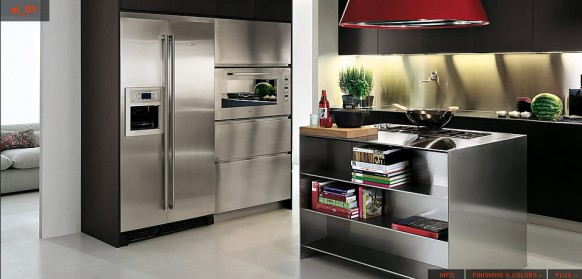 Top Stainless Steel Kitchens