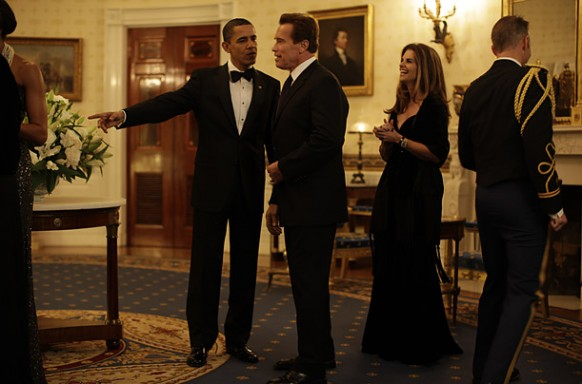first formal governers meet arnold shwarzenegger