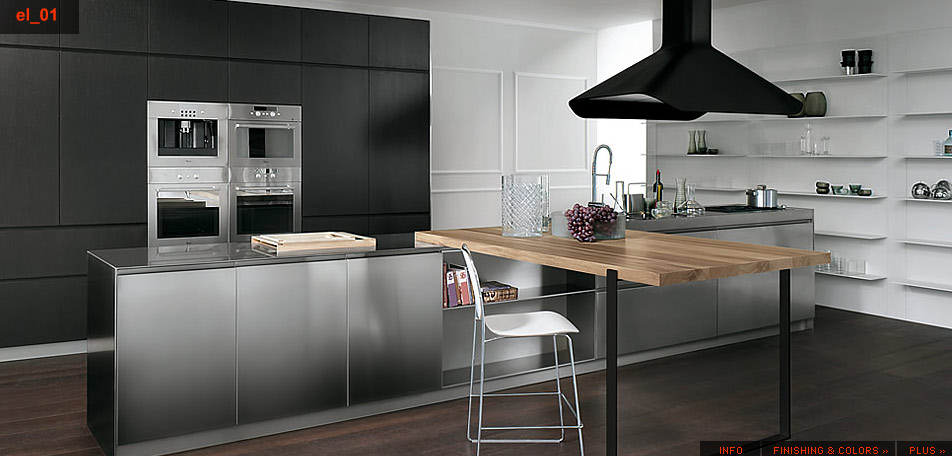 Projects also Vicostone co likewise Kitchen further Poggenpohl Porsche Design Kitchen P7340 further Stainless Steel Kitchen Designs. on more modern italian kitchens