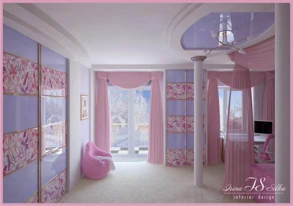 Room for girl View 3 by irina silka