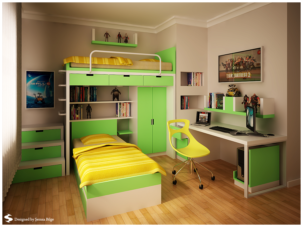 Teenage room designs - Cool teen boy bedroom ideas ...