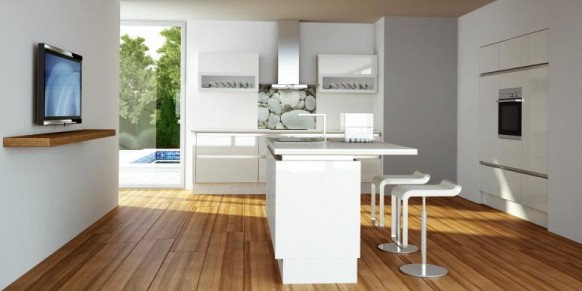 classic white kitchen designs