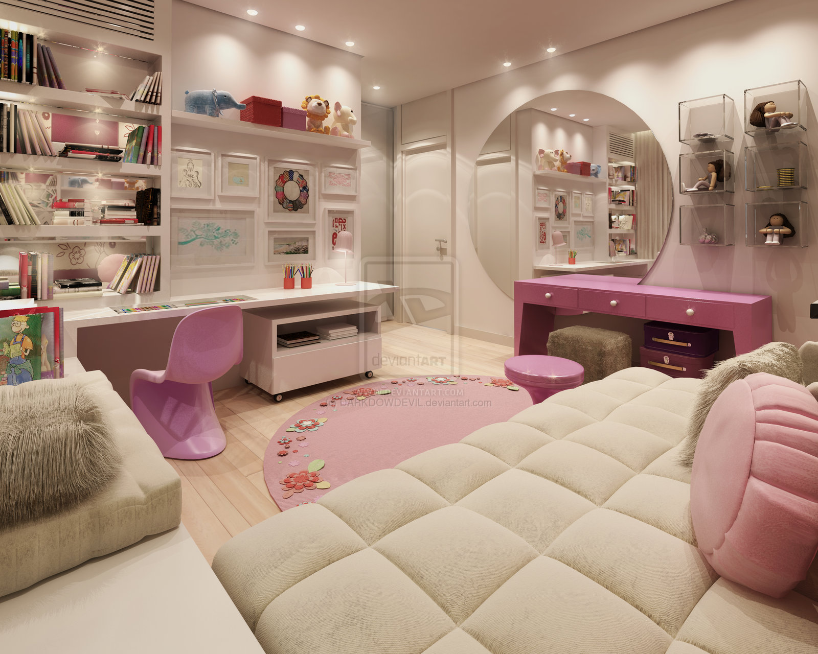 Teenage room designs - Photos of girls bedroom ...