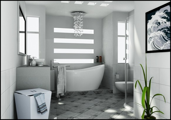 Bathroom by Basaran