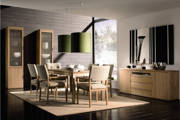 Simple Dining Rooms From Hulsta Colection 1