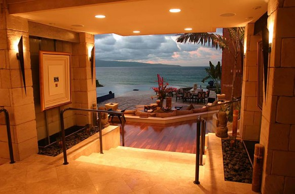 Tiger Woods' Home Interior In Hawaii