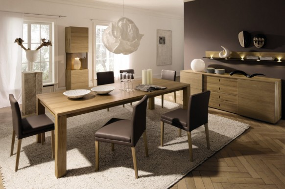 Simple Dining Rooms From Hulsta Colection 2