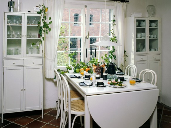 cute dining space