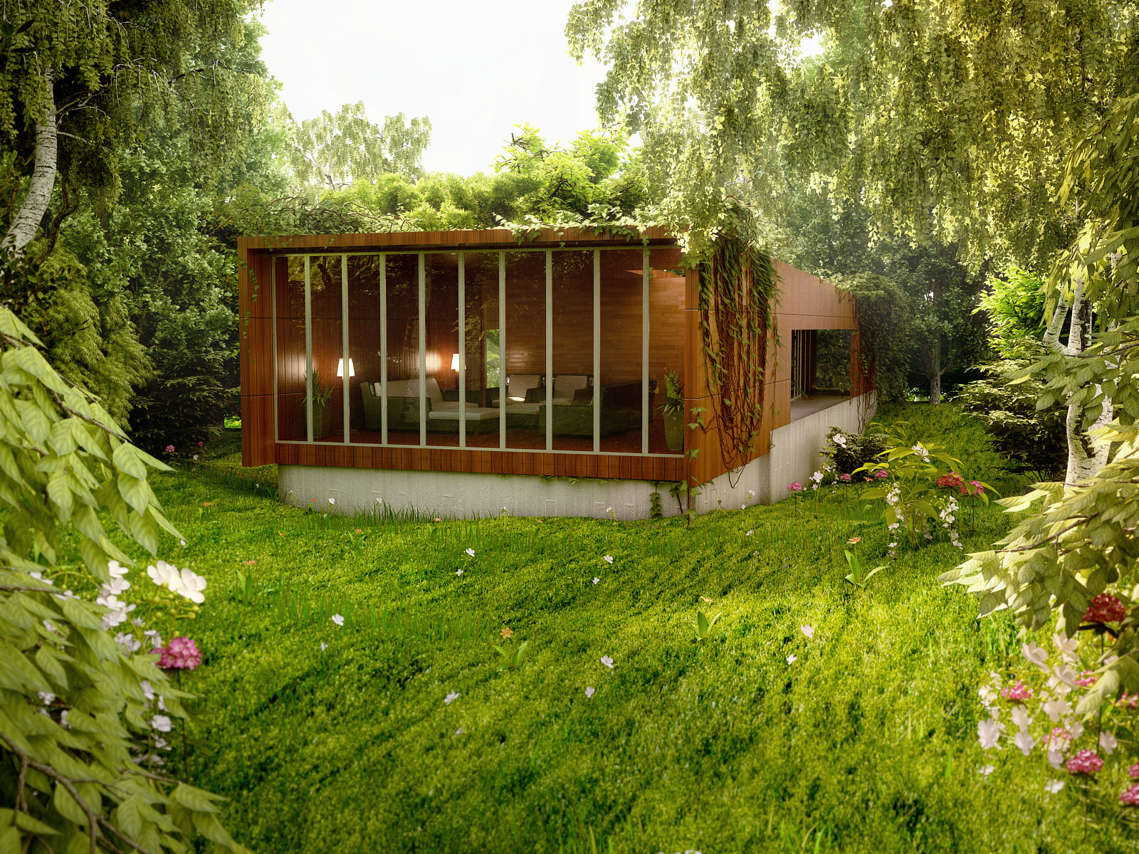 Amazing renderings of beautiful houses for Amazing home designs