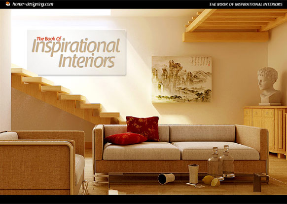 Home designing presents the book of inspirational interiors for Interior design books
