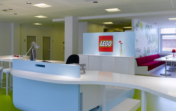 lego reception desk